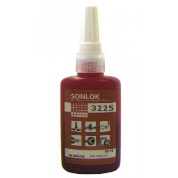 Sonlok 3225 Anit-Vibration Medium Threadlock - 50ml bottle