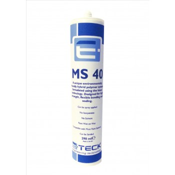 E-Teck MS40 Professional Sprayable Seam Sealer GREY- 290ml