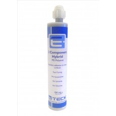 E-Teck 2 Part MS Polymer Hybrid Sealant Adhesive BLACK- 250ml