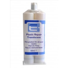 PU Plastic Repair Rigid 50ml- Translucent