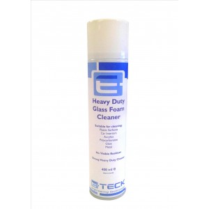 Heavy Duty Foam Glass Cleaner- 400 ml Aerosol