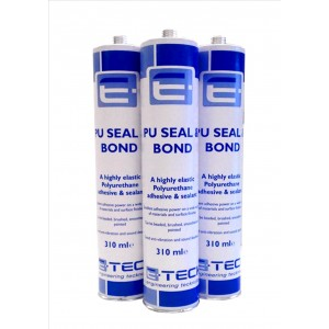 X3 E-Teck PU Seal and Bond Adhesive BLACK- 310ml