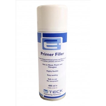 E-Teck HB Primer Filler Grey 400ml Aerosol