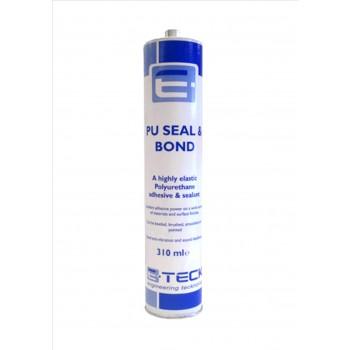 E-Teck PU Seal and Bond Adhesive WHITE- 310ml