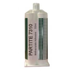 Partite 7310 MMA Structural Acrylic Adhesive - 50ml+nozzle