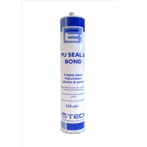E-Teck PU Seal and Bond Adhesive WHITE- 310ml